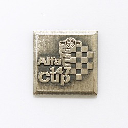 Alfa147Cup ピンバッジ