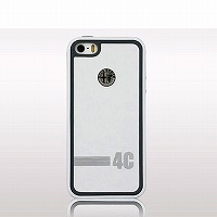 Alfa Romeo 4C iPhone5/5S ケース(ホワイト)