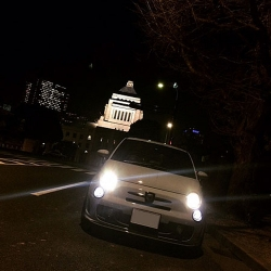 THREE HUNDRED ABARTH用 LEDポジションランプセット