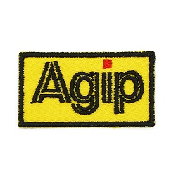 Agip ロゴワッペン(イエロー)